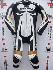 Spidi T2 One Piece Race Leathers with hump uk 36 euro 46