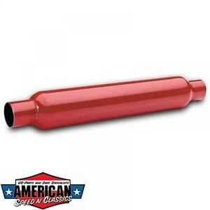 Cherry-Bomb-2-25-034-Auspuffbirne-Durchgangsdaempfer-Red-Hot-Auspuff-Birne-57-1mm