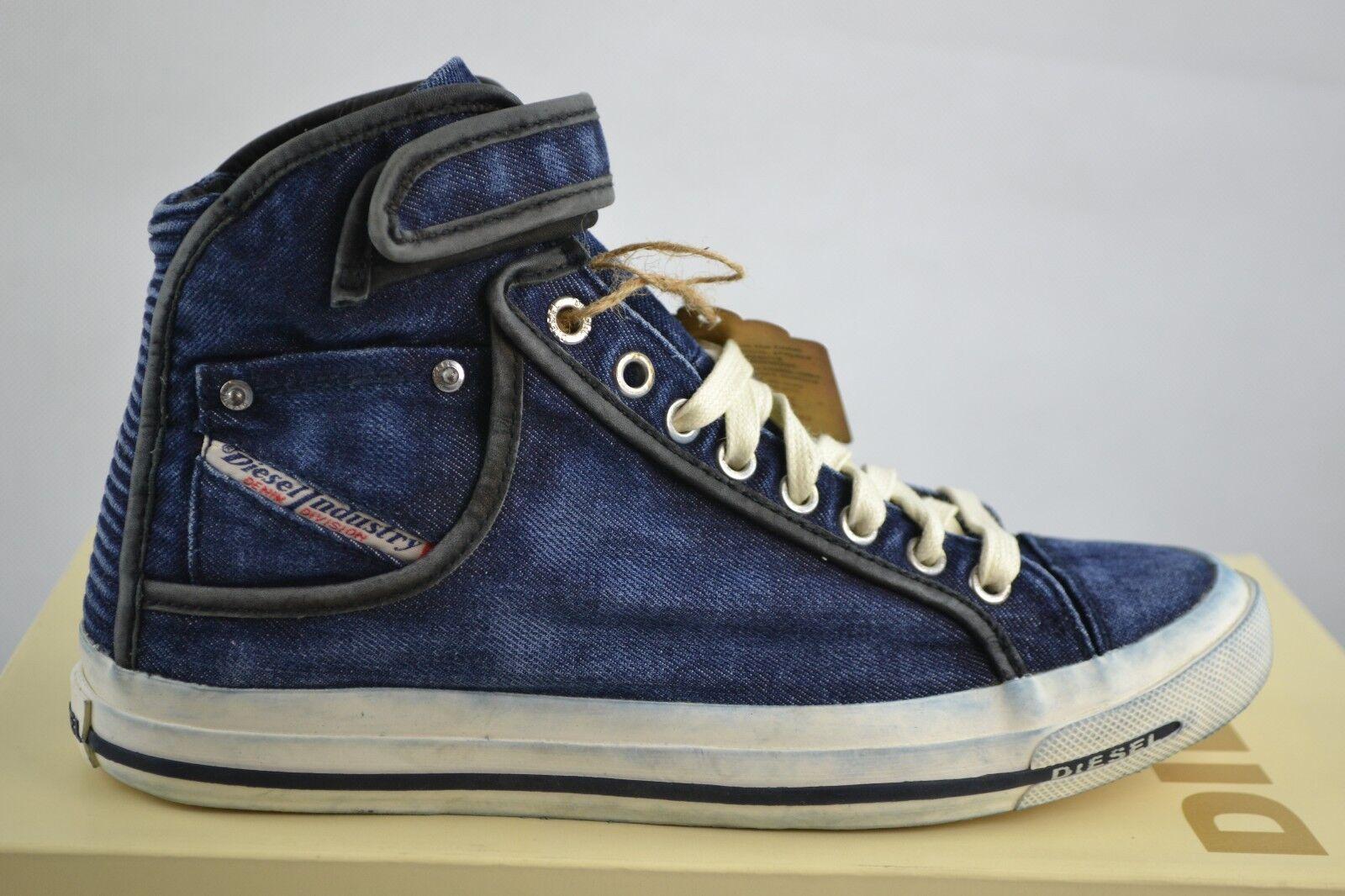 Diesel Net Met W Indigo Jeans Denim Chaussures Baskets Gr. Sélectionnable