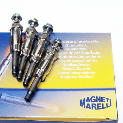4 x bougie de prechauffage MAGNETI MARELLI peugeot boxer 1.9 D 1.9 td 2.5 D 2.5 td j7 2.3 d
