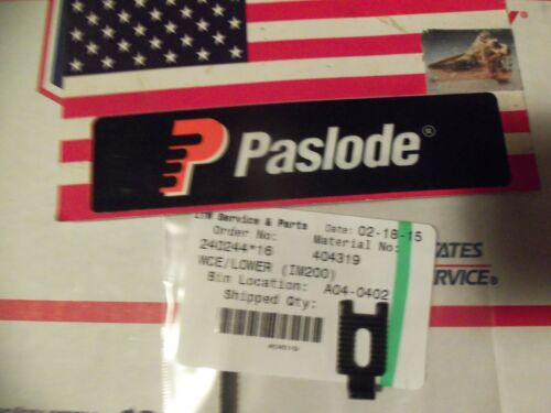 """IM200 /""""GENUINE/"""" Paslode Part  # 404319 WCE//LOWER"""