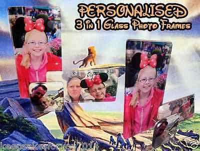 Personalizzato In Vetro Photo Frame - 3 In 1-alta Qualità Vetro-