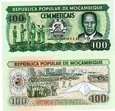 Mozambique AFRIQUE Billet 100 METICAIS 1986 NEUF UNC
