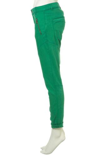 TOPSHOP Green Kendra Zip Capri Jeans Sizes 8 12 NEW £38