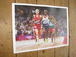 Mo Farah Olympic Winner Winner POSTER