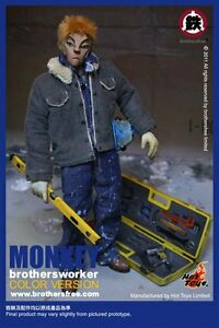 Brothersfree-x-Hot-Toys-Monkey-Brothersworker-Color-Version-12-034-Figure-IN-STOCK