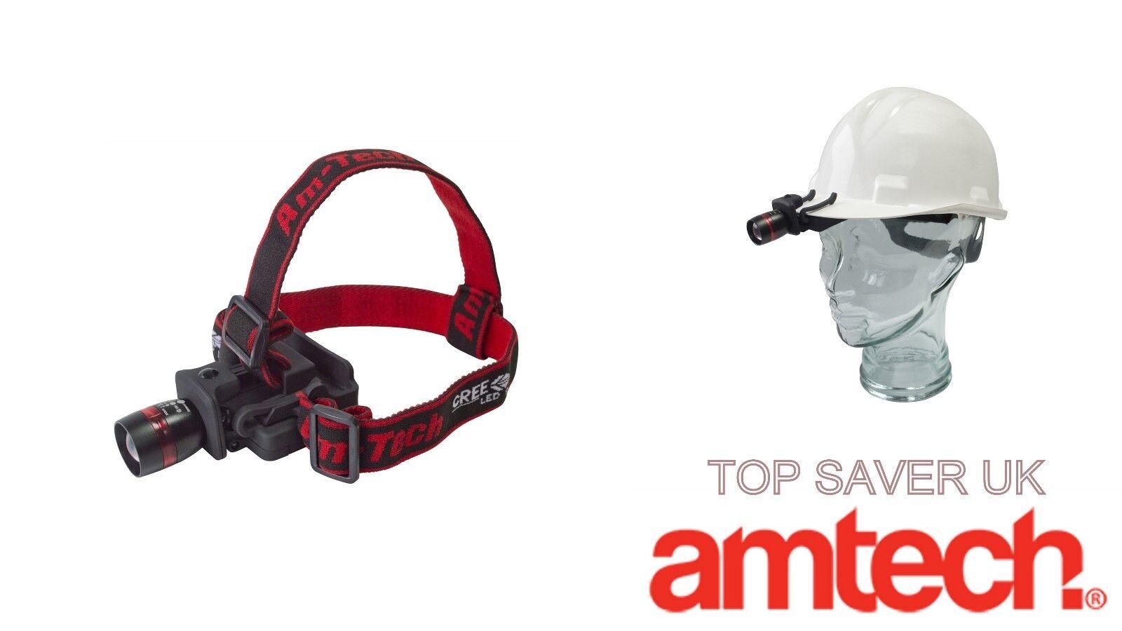Amtech Imperméable Imperméable Imperméable 3 W XPE DEL Fonction Zoom 200 M Phare Camping Randonnée Pêche 009de0