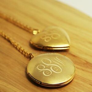 New personalized locket photo box monogram pendant for Jewelry box with initials