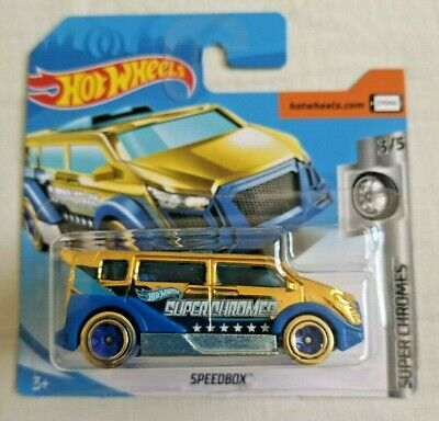 Autos, Lkw & Busse Diskret Hot Wheels Speedbox Neu Card Hw Super Chromes Sealed Gold Golden Auto- & Verkehrsmodelle