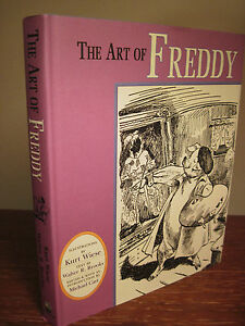 1st-Edition-THE-ART-OF-FREDDY-Classic-ILLUSTRATED-Kurt-Wiese-ART-First-Printing