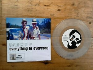 Everclear-Everything-to-Everyone-7-034-Single-VG-CLEAR-Vinyl-Record-CL-799-P-S