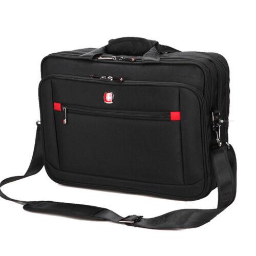 """Swiss 15 14/"""" Laptop NoteBook Briefcase Messenger Shoulder Handbag Bag Carry case"""