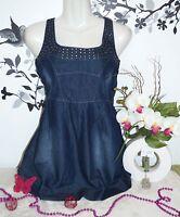 Vêtement Femme ... Tunique En Jean... Neuve ... T : Xs / 34