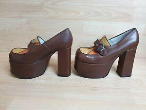 Vintage Buffalo London Platform Shoes