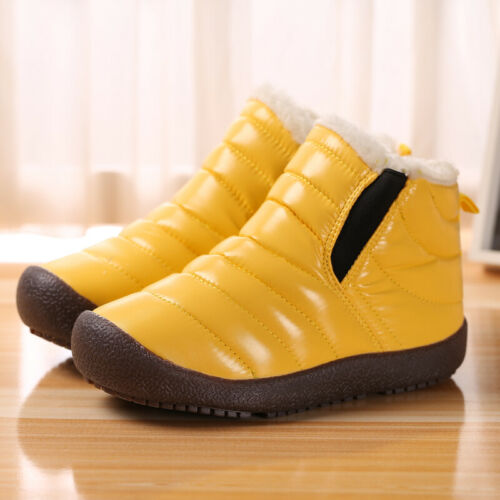 Kids Snow Boots Anti-skid Winter Warm Boot Boys Girls Outdoor Casual Walking Hot