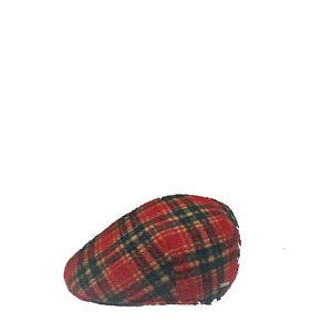 Caricamento dell immagine in corso Cappello-coppola-uomo -donna-berretto-basco-scozzese-lana- 08b62af47a9d