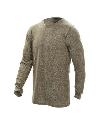 Moss Green New Daiwa Carp T-Shirts Small to 3XL Short Sleeve // Long Sleeve