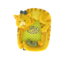 """Cat and Mouse Mini Photo Frame 2.5x3.25"""""""
