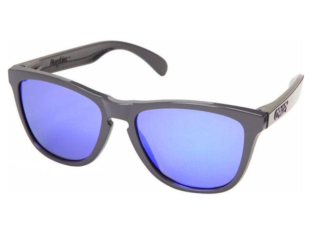 9651f7de18 Oakley Frogskins Toxic Blast Sunglasses OO9013-33 Dark Grey Violet Iridium