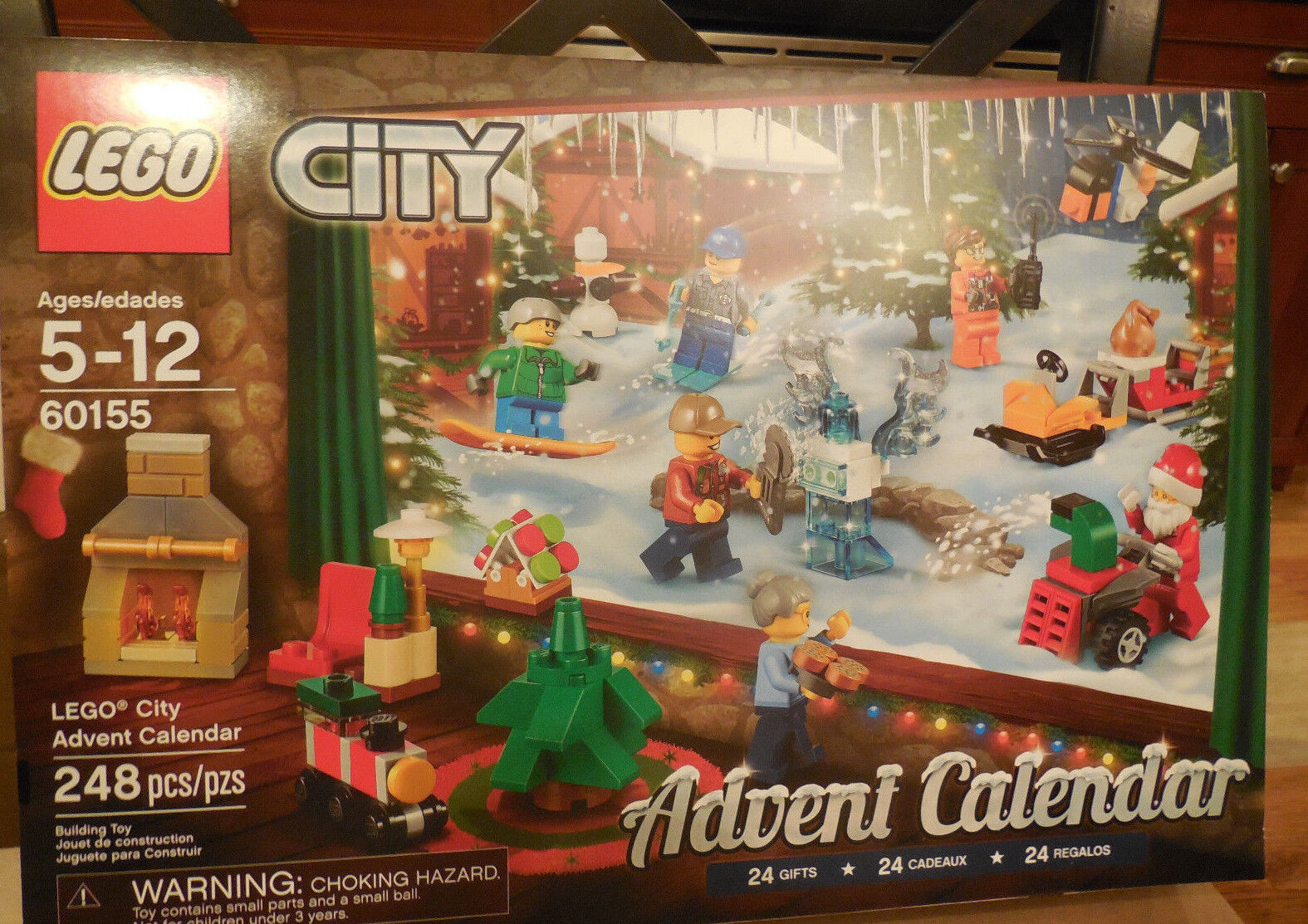 LEGO 60155 City Advent Calendar 2017 248pcs NEW IN BOX