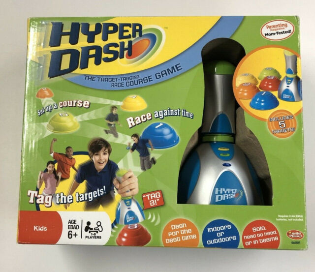 Wild Planet Hyper Dash The Target-Tagging Race Course Game