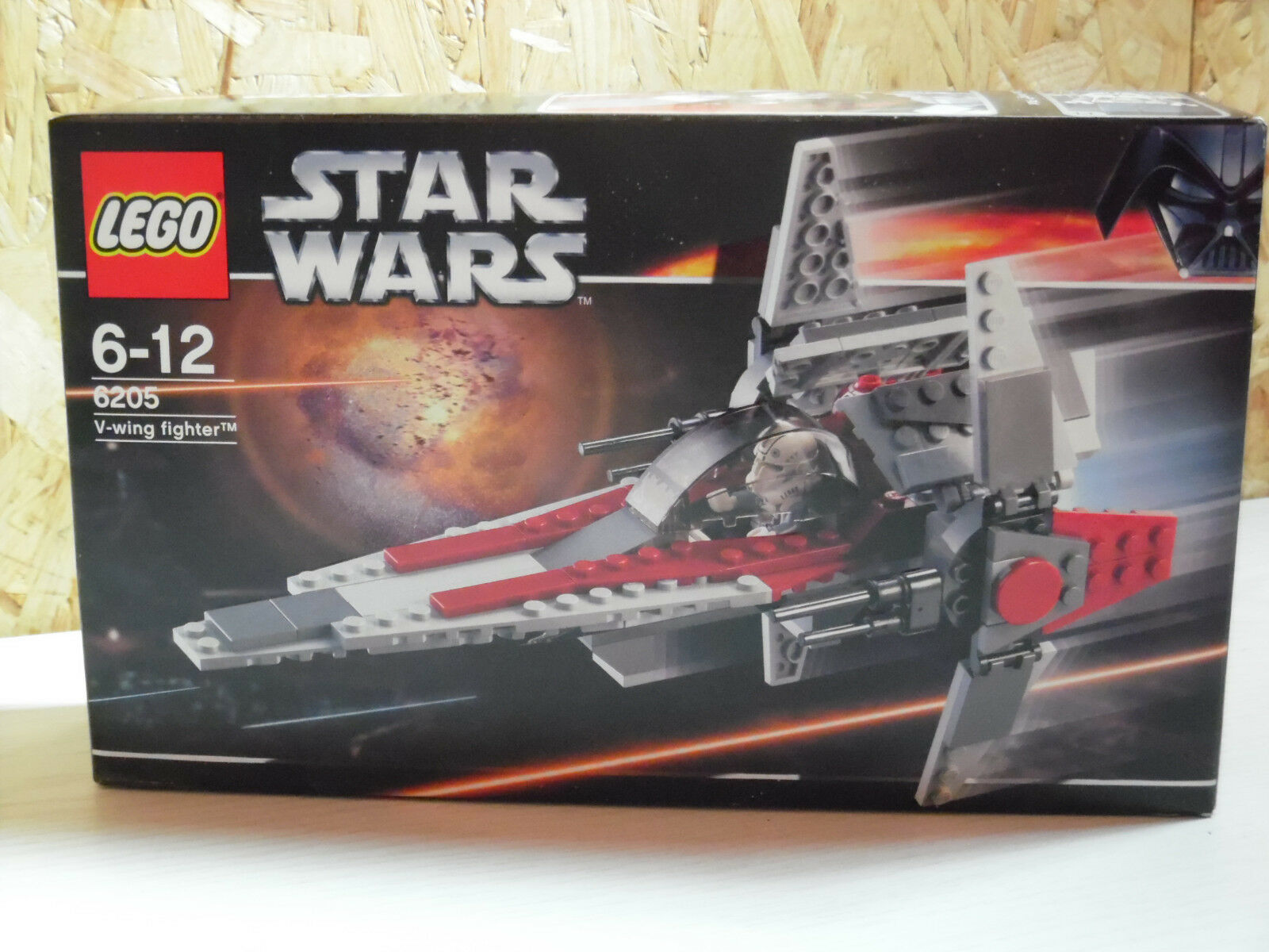LEGO Star Wars   V-Wing fighter   6205   Neu und OVP