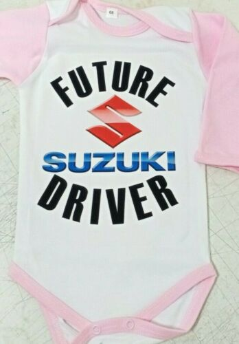 future suzuki driver BABY BODY PINK kids baby clothing toddler 0-24 months