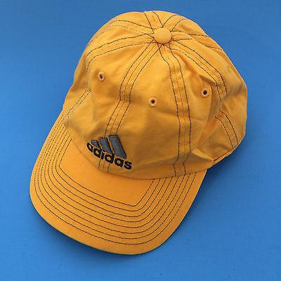 Adidas Mens Sports Peak Cap Baseball Hat 3 Stripes Logo Adjustable Strap Back