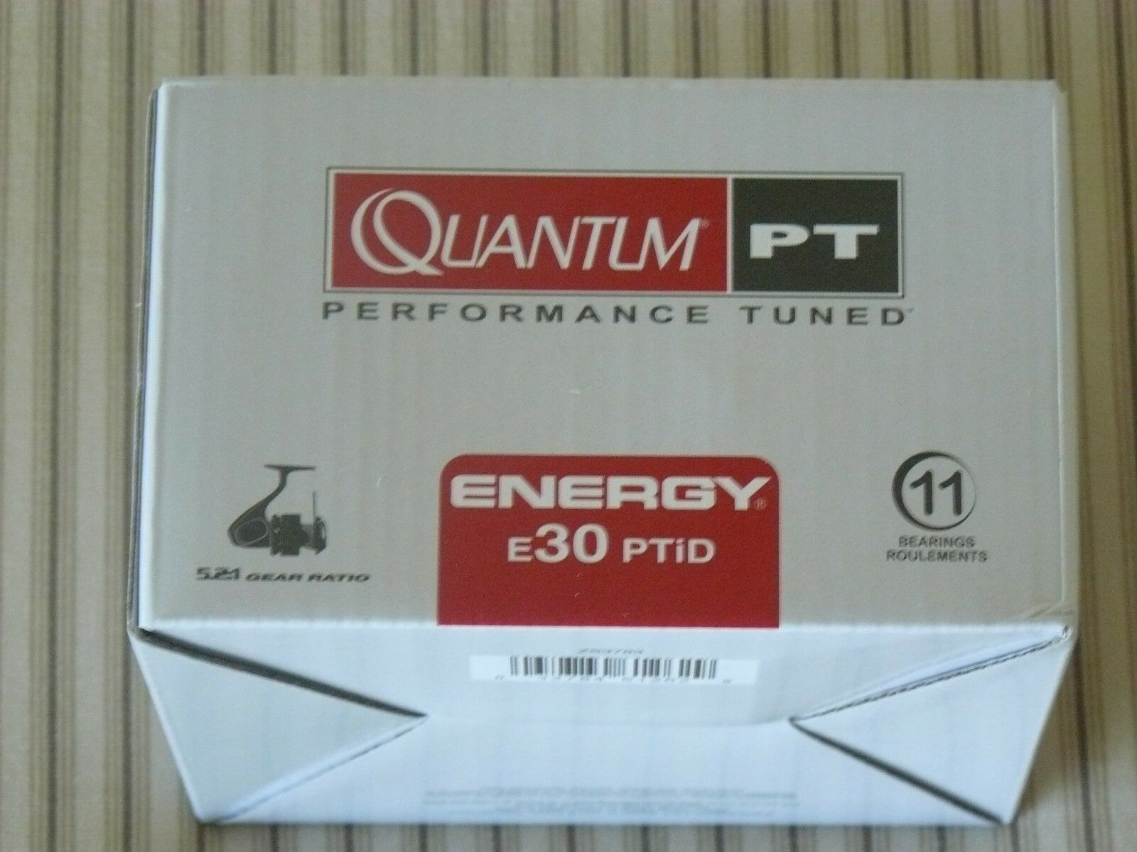 QUANTUM ENERGY E30PTID SPINNING 5.2:1 GEAR RATIO SPINNING E30PTID REEL f72c08