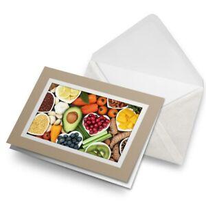Greetings-Card-Biege-Healthy-Food-Diet-Fruit-Vegetables-15905