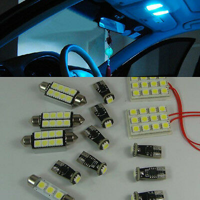14 x White SMD LED Interior Lights Package Kit For BMW 3 Series E90 E92 M3