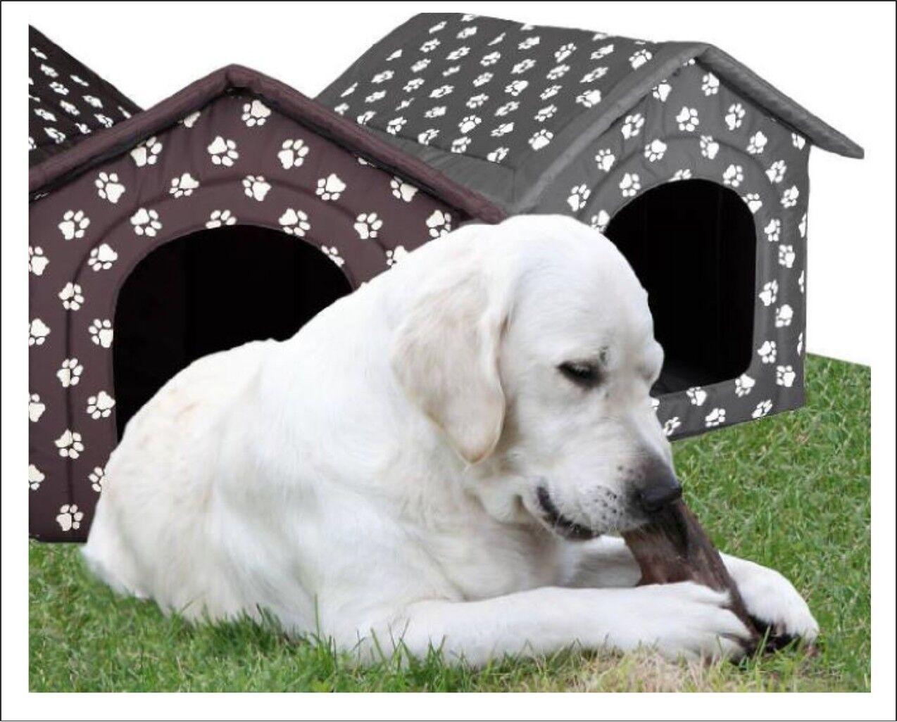 GRANDE DOG House Cuccia Igloo Tenda + Pad Akita Labrador lavabile in lavatrice XXXL