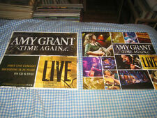 AMY GRANT-(time again...live)-1 POSTER FLAT-2 SIDED-12X12-NMINT-RARE
