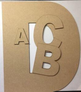 Section SpéCiale En Bois Suspendu Mdf Laser Cut Alphabet Arial Lettres & Chiffres, 6 Mm D'épaisseur Craft-afficher Le Titre D'origine