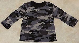 Boys Infant & Toddler Camouflage or Plain T-Shirt