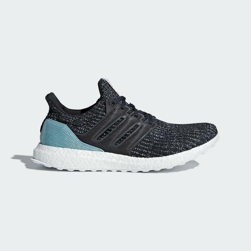Mens Adidas x Parley For The Oceans Carbon bluee Spirit CG3673
