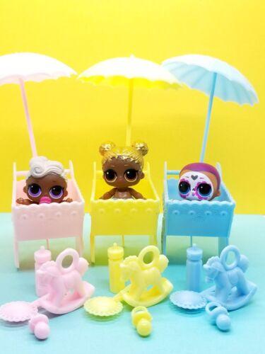 STROLLERS for LOL Surprise Dolls Lil ACCESSORIES  *15 PCS* Custom furniture