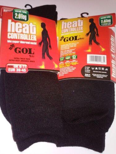 3 Pairs WOMEN Warm Thermal Heat Locker Control Winter Insulated GOL socks Ladies
