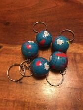 Vintage world metal globe keychain map travel geography ebay item 2 lot of 5 vintage world globe keychains map travel geography jl lot of 5 vintage world globe keychains map travel geography jl gumiabroncs