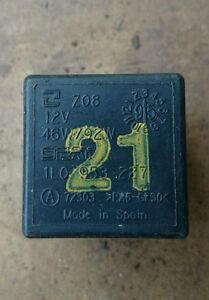 Seat Ibiza Mk2 2 0 Mpi Gti Number 21 Black Relay 1l0953227 Ebay