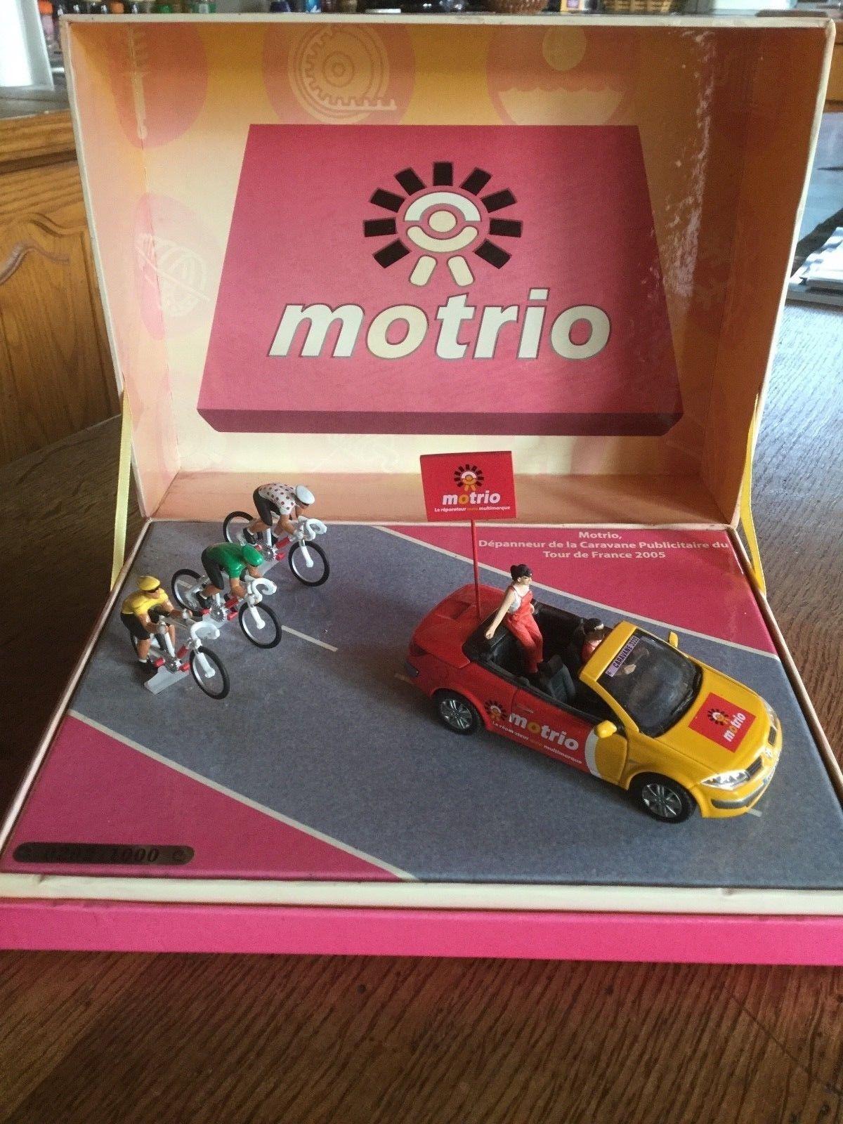 rare coffret diorama MOTRIO RENAULT Megane cyclistes 1:43 NOREV Tour France 2005 | Prix Très Raisonnable  | Réputation D'abord  | Une Grande Variété De Modèles  | Moins Coûteux