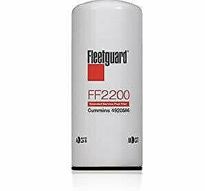 New and Genuine Fleetguard FF2200 Fuel Filter Cummins ISX