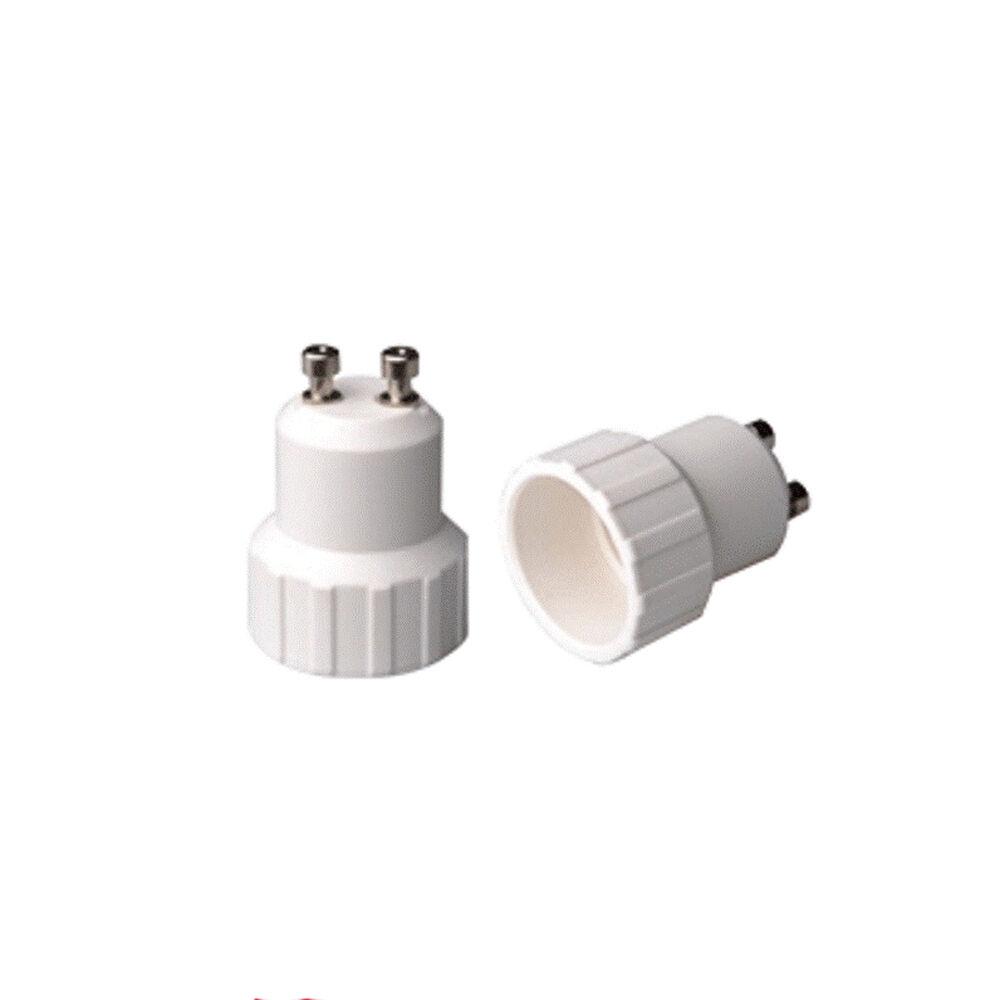 50 ADATTATORI X LAMPADINE CONverdeITORE DA GU10 A E14 PORTALAMPADA EXTRASTAR