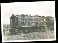 B&W Railroad Photo - Canadian National Rwy - Engine #184