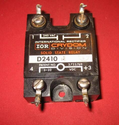 Crydom D2410 Halbleiterrelais solid state relais  10A