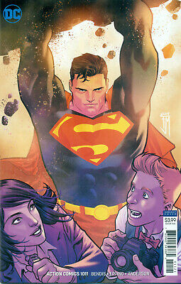 Action Comics #1011 Epting Variant NM 2019 Stock Image