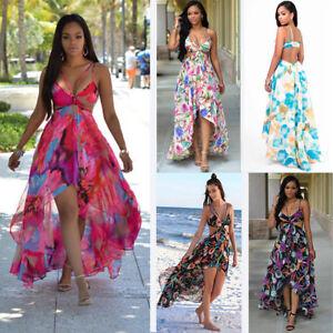 Damen Boho Chiffon Strandkleid Kimono Strandtunika Tunika Strandmode Sommer