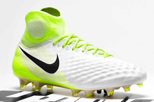 a38f273169af Nike Size 11 Soccer Cleats Magista Obra II FG Yellow White 844595 ...