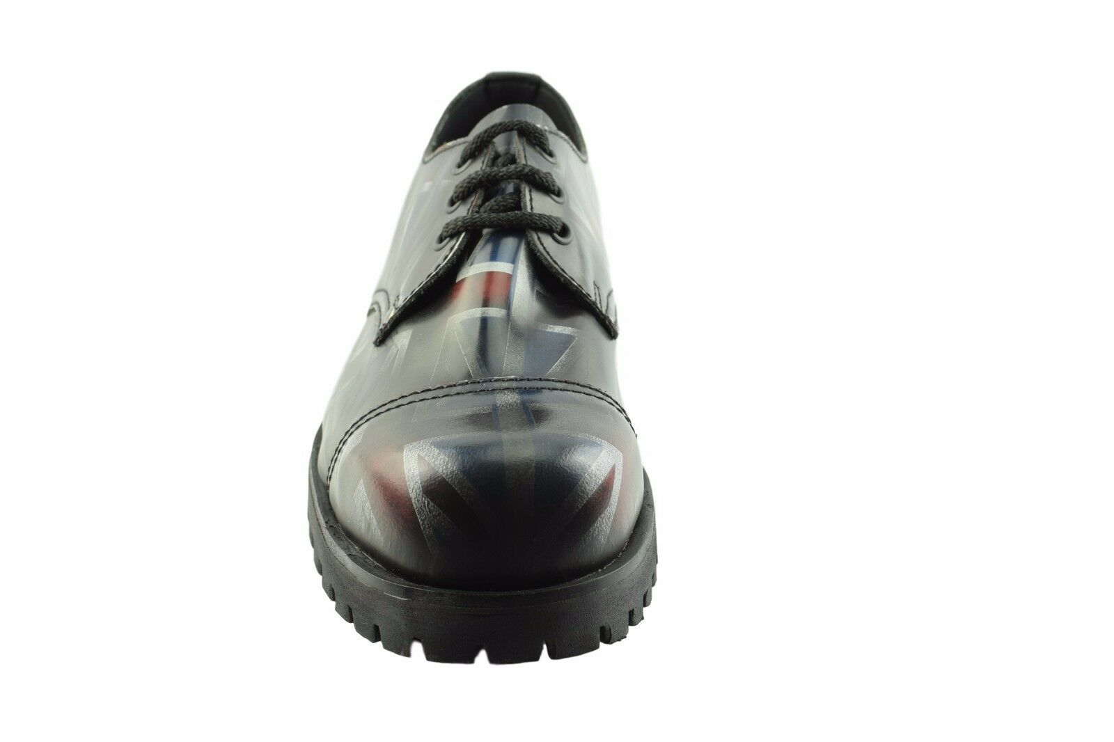 Steel Ground Leather Unon Jack Flag Flag Flag 3 Eyelet Box Safety Under Cap Rock Shoes 0943c4
