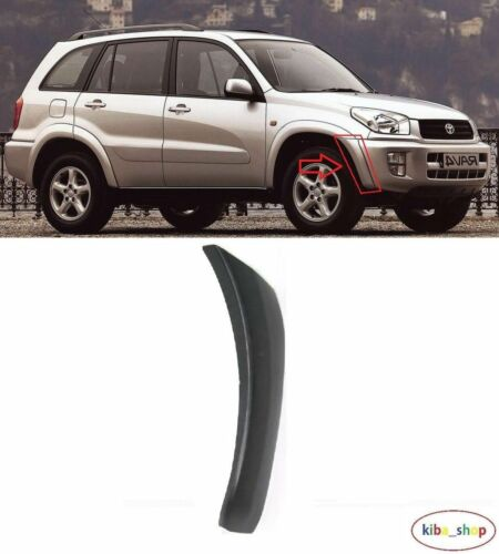 TOYOTA RAV4 2000-2000 NEW FRONT BUMPER SIDE MOULDING TRIM RIGHT O//S DRIVER